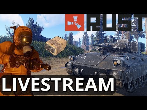 Finding Boom Booms So We Can RAID!!! RUST LIVE