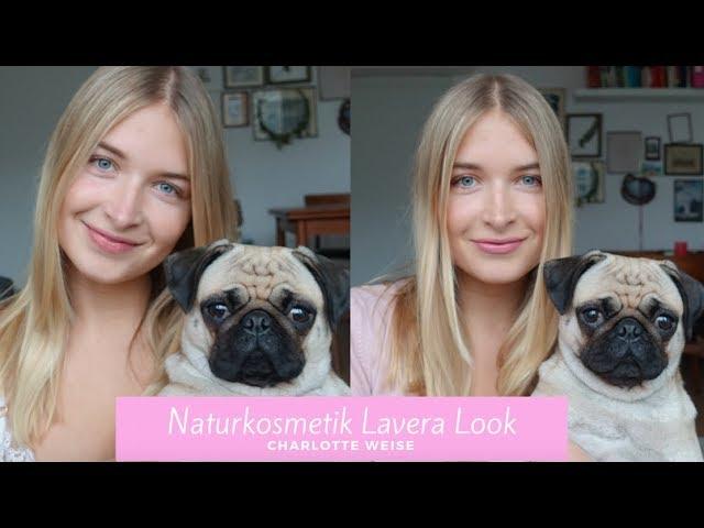 Naturkosmetik Make-up Look Lavera -Charlotte Weise