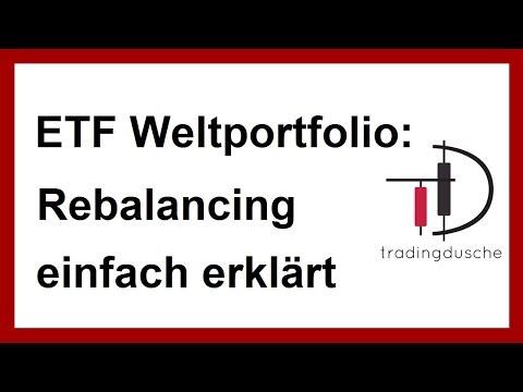 ETF Weltportfolio: Portfolio Rebalancing (ETF Sparplan | ETF einfach für Anfänger erklärt)