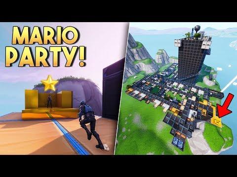 FORTNITE MARIO PARTY! - Fortnite Creative (Nederlands)