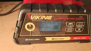 Harbor Freight Viking Battery Charger Review