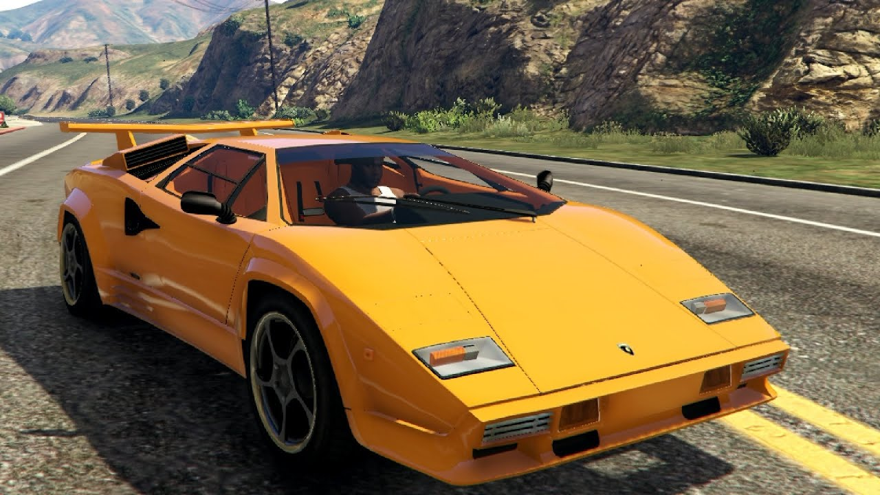 1988 lamborghini countach lp500 qv 1 0 gta v youtube. Black Bedroom Furniture Sets. Home Design Ideas