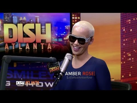 AMBER ROSE SPILLS ALL AND THROWS US SHADE!