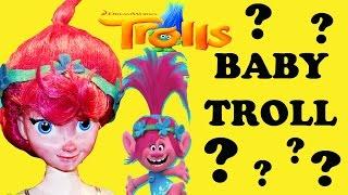 TROLLS Movie BABY Troll POPPY Makeover + Pregnant Pony LOTS of BABIES New Trolls Movie Baby Troll