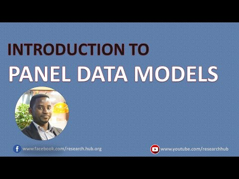 Panel Data (1): Introduction To Panel Data Analysis