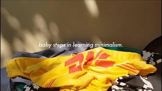 Minimal Vlog 3   irenefeliciaw   Baby Steps in Learning Minimalism.