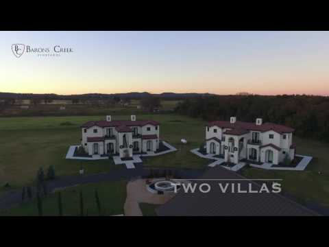 Baron's Creek Vineyards Aerial Tour