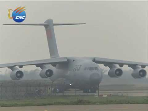 Zhuhai Airshow: China's Y-20 military transport aircraft ...