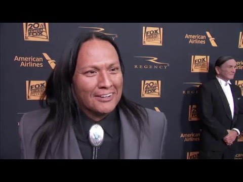 Oscars 2016 The Revenant Interview - Arthur RedCloud