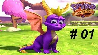 Spyro 5 : A Hero's Tail [GC] - 1 ) Village des Dragons