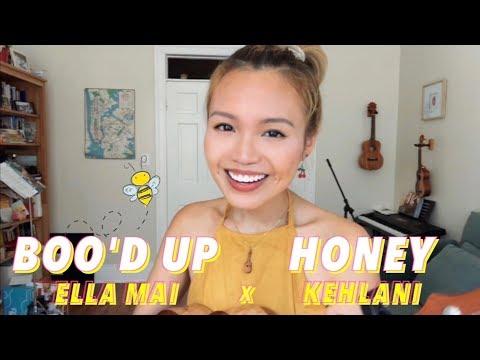 honey x boo'd up (ukulele + lyrics cover) / nix