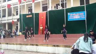 [Dance Cover] Shape of you + Closer - K56A1 THPT Đô Lương I