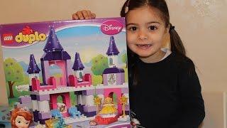 Lego duplo Il castello della principessa sofia costruzioni the first lego princess sopia