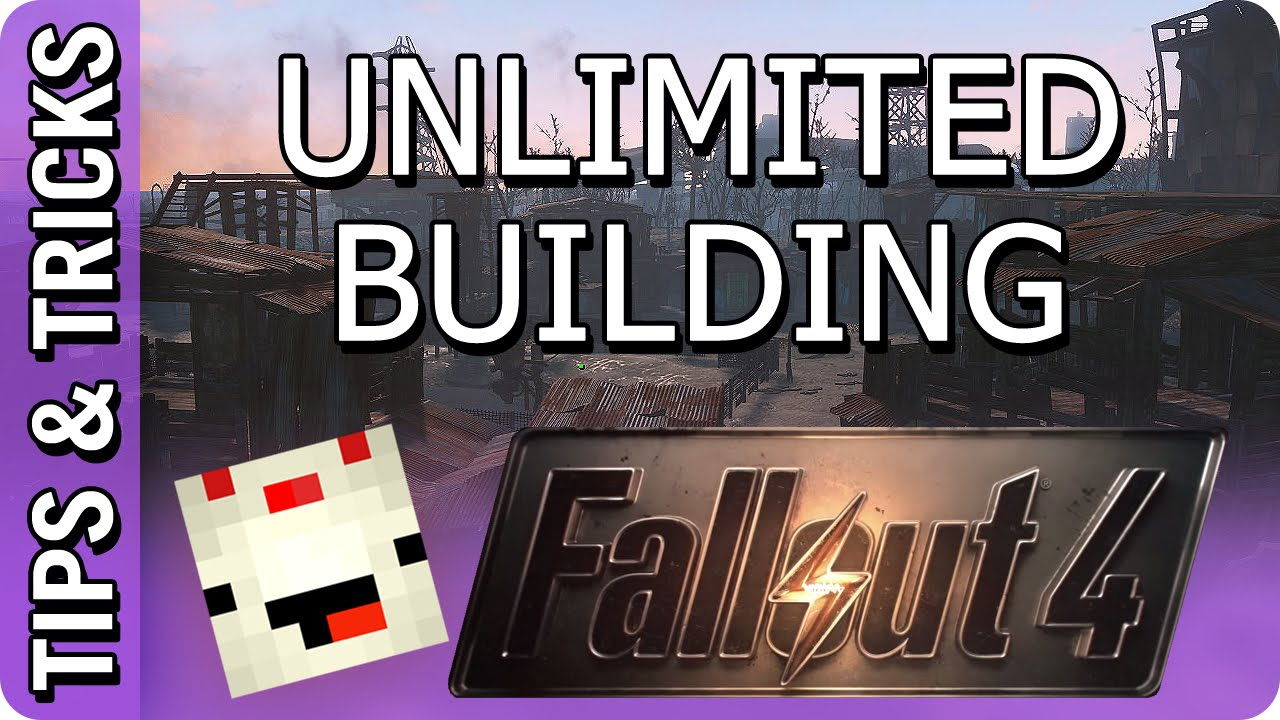 Fallout 4 unlimited settlement building pc mod v1 0 for Builders unlimited