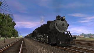 A B&O-ized 2 10 2 Steam Locomotive for Trainz
