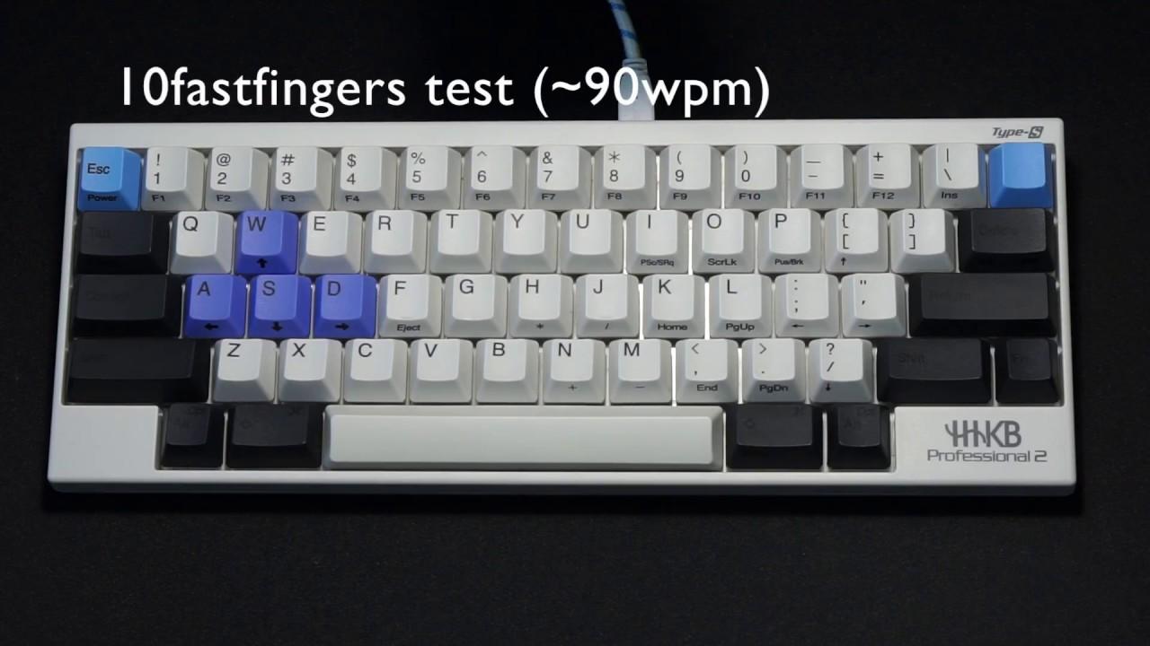 Typing Video: HHKB Type-S