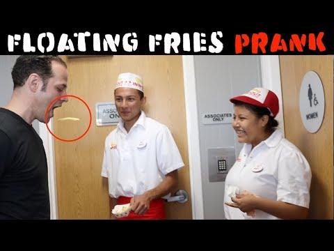 Floating Fries 🍟 PRANK - Julien Magic