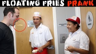 Floating Fries 🍟 PRANK - Julien Magic