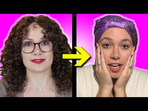 Women With Curly Hair Try No Heat Straightening Methods