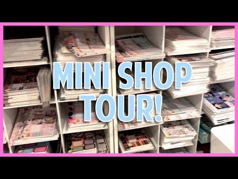 Work Day // Mini Shop Tour!