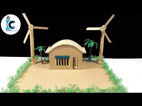How To Make A Wind Turbine - Wind Turbine School Project