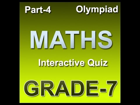 7th class Math olympiad Practice book for stady material
