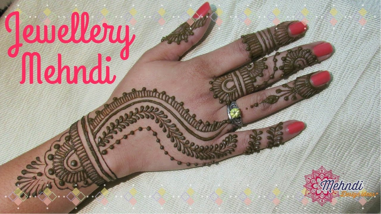 Indian mehndi designs for hands indian hand mehndi designs mehndi - Jewellery Mehndi Indian Mehndi Designs For Hands Mehndi Design Ideas 2017