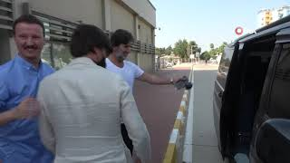 Adana Demirspor'un anlaşmaya vardığı Vincenzo Montella, Adana'ya geldi