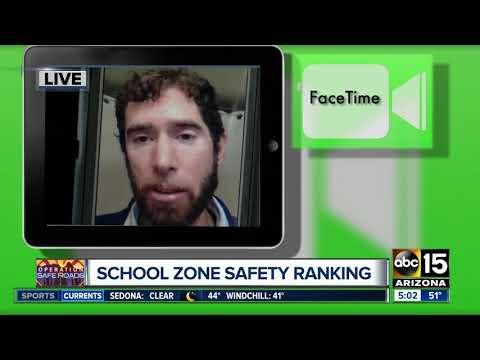 School zone safety: Arizona ranks towards the bottom