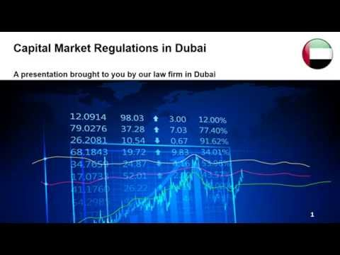 Capital Market Regulations in Dubai