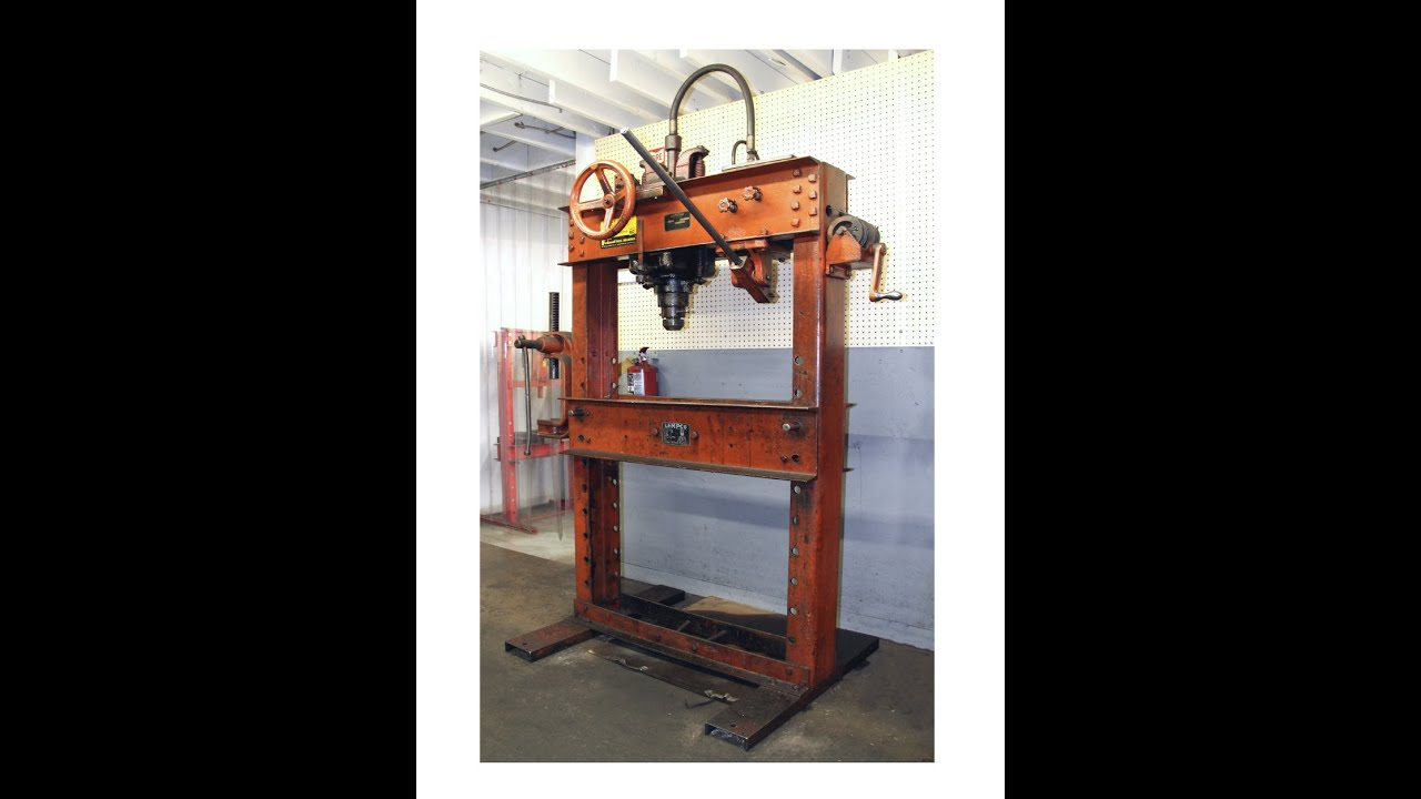 machine shop press
