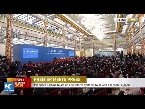 LIVE: Premier Li Keqiang meets the press