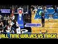 ALL TIME WOLVES VS MAGIC! MARBURY & KG VS BUD! NBA 2K18