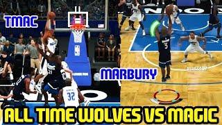 all time wolves vs magic marbury kg vs bud nba 2k18