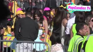 Victoria Justice with Rosie & Sofia Grace at Kids Choice Awards in LA Thumbnail