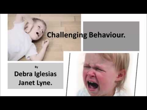 Challenging Behaviour Presentation