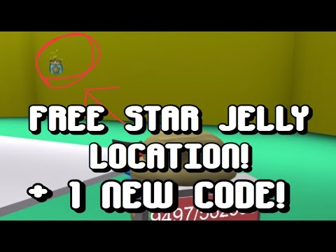 New Free Star Jelly Location Code Bee Swarm Simulator Youtube