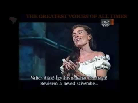 ERIKA  MIKLOSA - HUNGARIAN SOPRANO - CARO NOME FROM RIGOLETTO BY G. VERDI-THE GREATEST VOICES OF AL