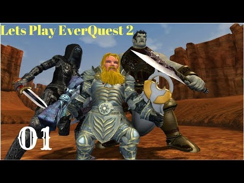 Everquest 2 Lets Play [Part 1]