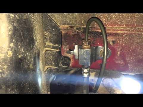 1999 Ford Taurus brake lines repair a.k.a. my nemesis