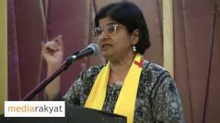 ambiga sreenevasan when we criticize them they want to shut us down is not going to work