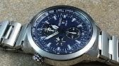 f330d748c4b Relógio Seiko Sportura Aviator Sapphire Masculino 7T62BT 1 - YouTube