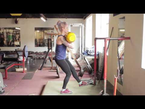 9st GIRL PISTOL AND PRESS (Centaur Gym Belfast)