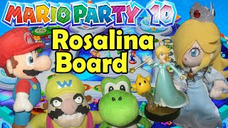 ABM: Mario Party 10 Rosalina Board on Amiibo Party HD!!