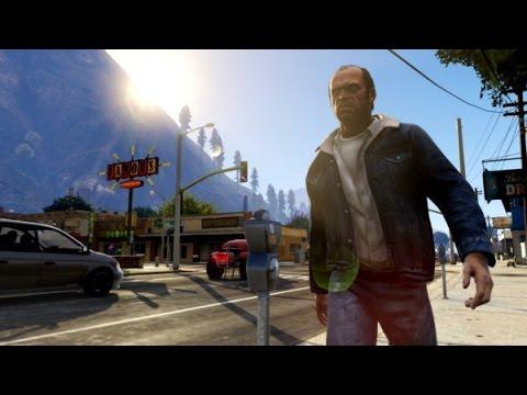 Gta San Andreas 11# Анимации Gta V