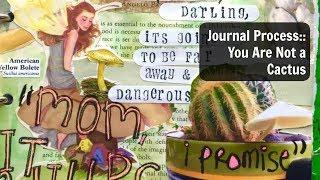 Journal With Me Video:  Junk Journal Process:  Binder Junk Journal