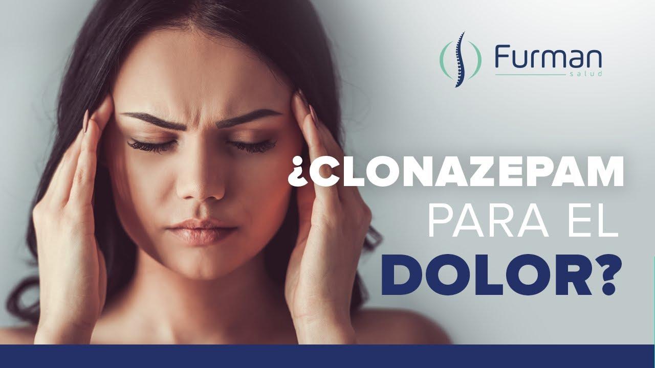 ¿Clonazepam por dolor crónico?