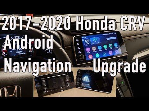 2017 - 2020 Honda CRV Android Navigation Radio Upgrade and Review