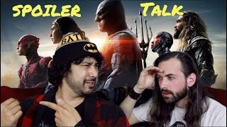 connectYoutube - JUSTICE LEAGUE   SPOILERS TALK!!! (Movie Review)