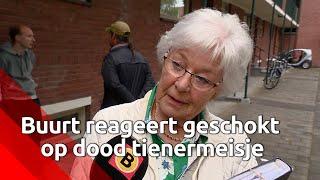 Bilderdijkstraat Breda rouwt om gewelddadige dood van tienermeisje
